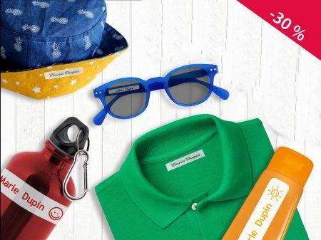 abc-marquage.com - Kit d'étiquettes pour la colo-classe verte