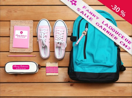 abc-marquage.com - Kit d'étiquettes pour l'entrée en primaire et maternelle