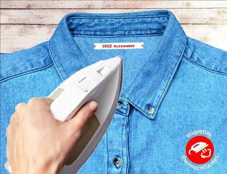 Etiquettes tissées Standards thermocollantes